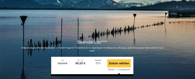 3 Tage Bodensee Wellness Schnäppchen
