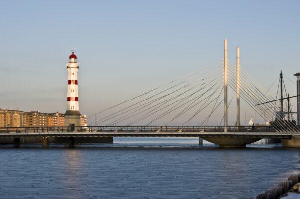 Leuchtturm in Malmö Schweden