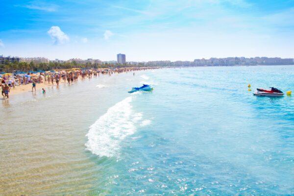 Spanien Costa Dorada Salou Strand