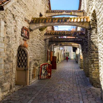 Tallinn Altstadt Estland
