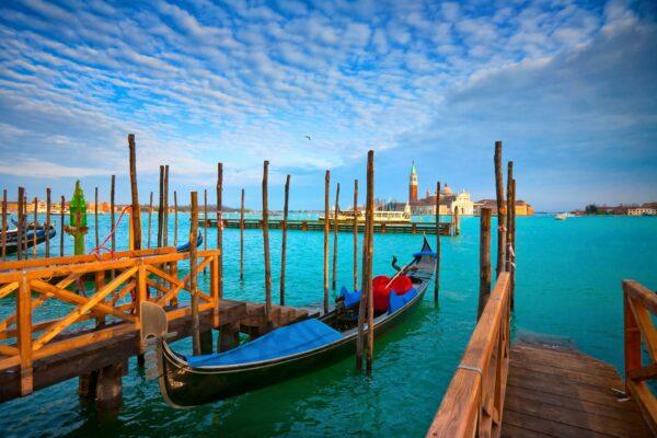 Venedig Wasser Kanal