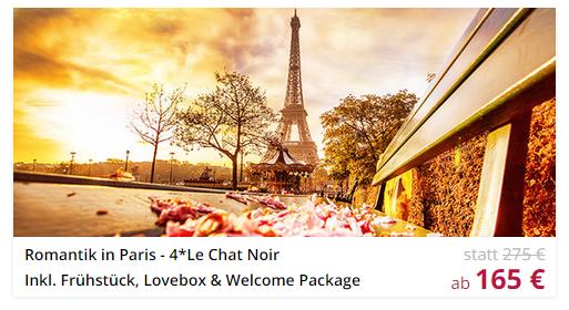 3 Tage Paris Romantik Urlaub