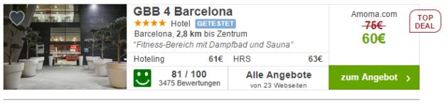 3 Tage Städtereise Barcelona