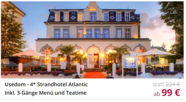 USedom Strandhotel Atlantic Schnäppchen