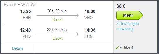 3 Tage Städtereise Vilnius