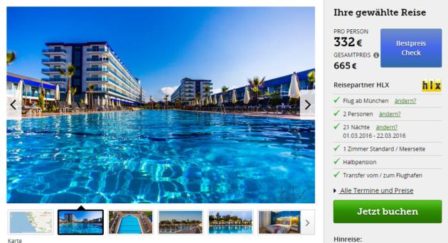 Türkei Luxus Schnäppchen Alanya