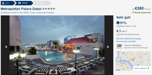 7 Tage Dubai Schnäppchen
