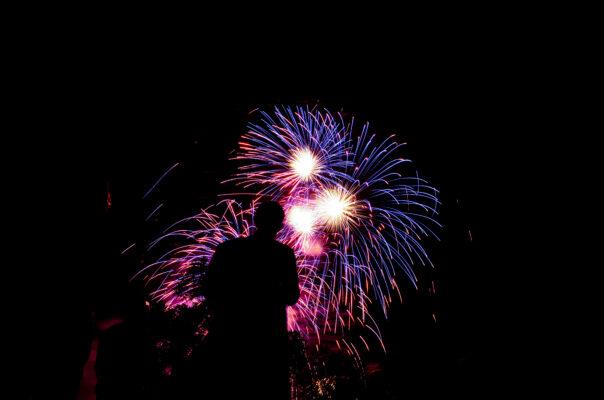Silvester Schnäppchen Feuerwerk