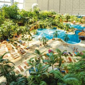 48h Sale Tropical Islands: 2 Tage mit täglichem Eintritt, Übernachtung im Safarizelt & Frühstück ab 45€
