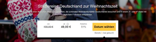 Blind Booking Deutschland