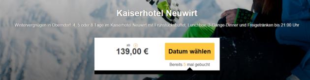 Skiurlaub Oberndorf