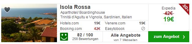 14 Tage Sardinien Hotel Angebot