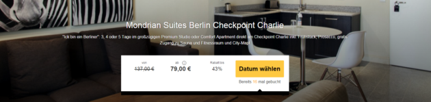 3 Tage Berlin Checkpoint Charlie
