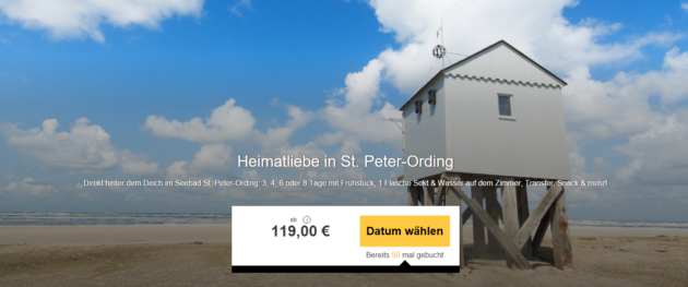 3 Tage Nordsee St. Peter ORrding