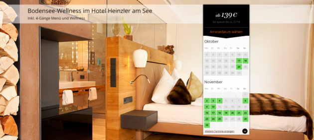 3 tage wellness aufenthalt am bodensee im 4 hotel inkl for Seehotel immenstaad