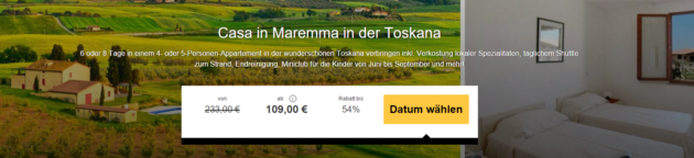 8 Tage Toskana Reiseschnäppchen Travelbird