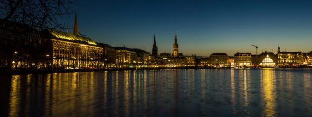 Hamburg Tipps: Binnenalster Panorama