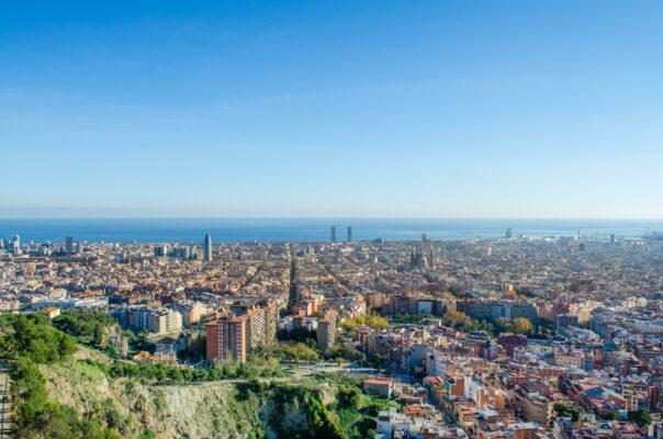 Barcelona Bunkers Del Carmen Aussicht