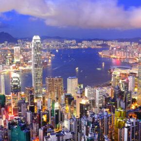 Hongkong Flüge nur 314 € hin und zurück