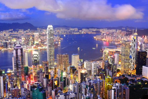 Zentrum Hongkong & Victoria Harbour
