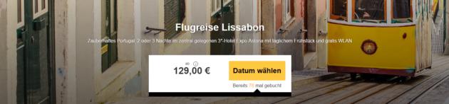 Kurztrip Lissabon Angebot