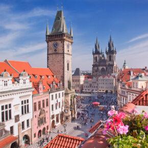 Kurztrip am Wochenende nach Prag: 2 Tage im zentralen TOP 4* Hotel mit Frühstück für 16€