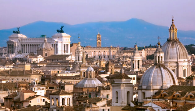 Rom Altstadt Panorama