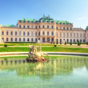 Belvedere Schloss Wien
