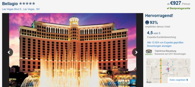 8 Tage Las Vegas Trip
