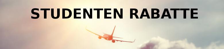 Studenten Rabatte bei Flugreisen