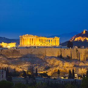 Griechenland Städtetrip: 3 Tage Athen mit Hotel, Flug & Frühstück nur 104 €