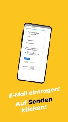 Gewinnspiel App 5000€ - Schritt 4