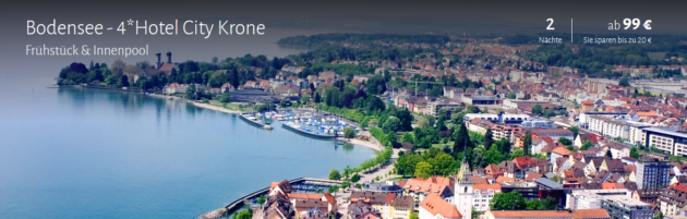 3 Tage Bodensee Angebot