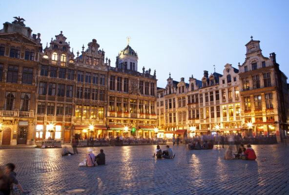 Brüssel Zentrum Rathaus