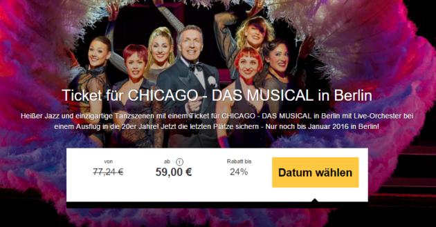 Musical Chicago Berlin