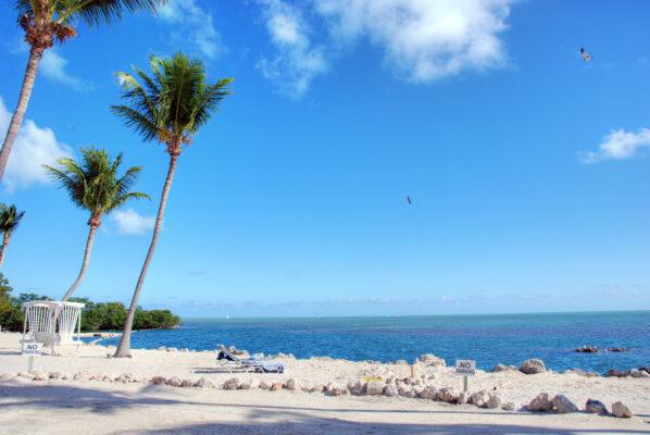 Küste Florida mit Strand