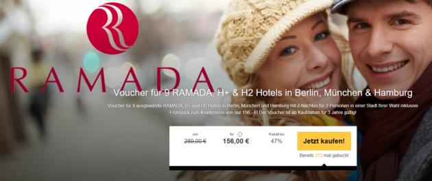 Gutschein Ramada Hotels