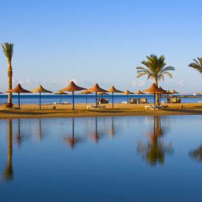 Ägypten-Kracher: 1 Woche im 4* Hilton Hotel mit Meerblick, All Inclusive, Flug, Transfer & Zug nur 193€