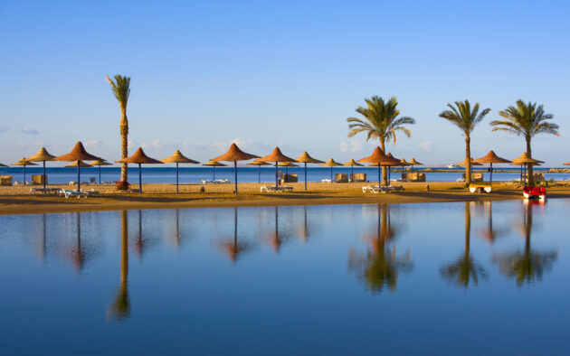 Ägypten Strand in Hurghada