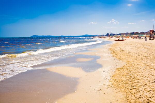 Küste Italien Strand an der Adria