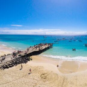 Insel Sal: 7 Tage Kap Verden im 4* Hotel mit Flug, Transfer & Zug nur 494€