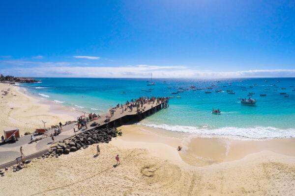 Santa Maria Strand Kap Verde