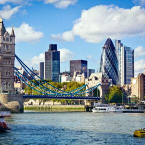 2 Tage Städtereise London mit Flug, 3* Hotel & Frühstück für 164€