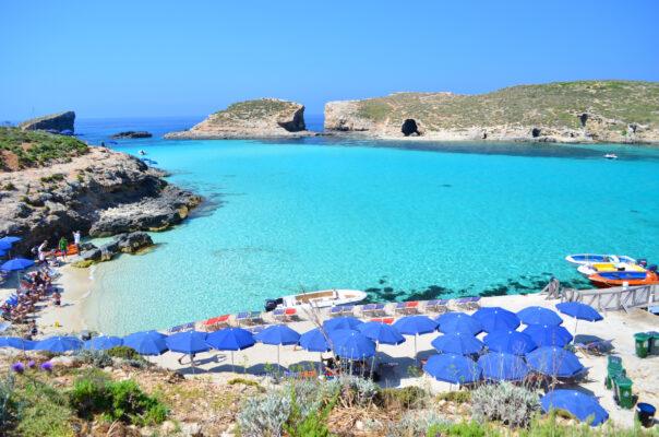 Blaue Lagune Comino Malta