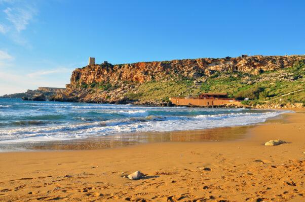 Strand auf Malta