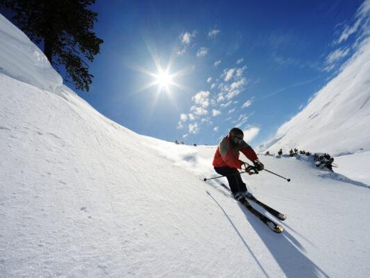 Ski Fahrer Österreich