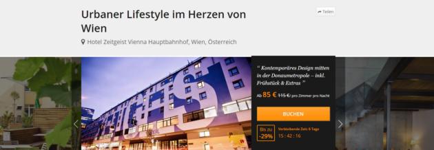 Städtetrip Wien Angebot