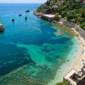 Single Reise: 7 Tage Türkei im 4* Hotel mit All Inclusive, Flug & Transfer nur 252€