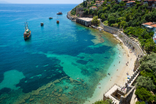 Alanya Castle & Strand Türkei