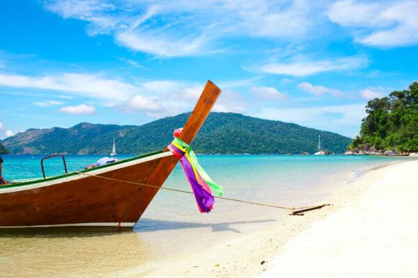 Long Boats in Phuket Thailand